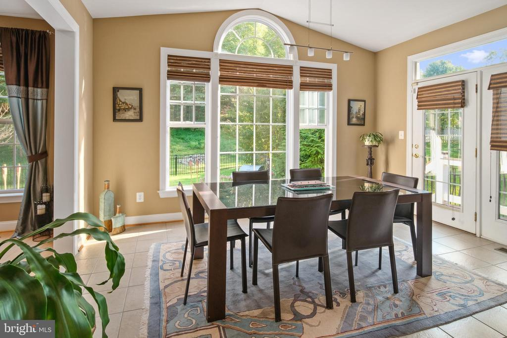 Sun Room with Vaulted Ceiling - 43945 RIVERPOINT DR, LEESBURG