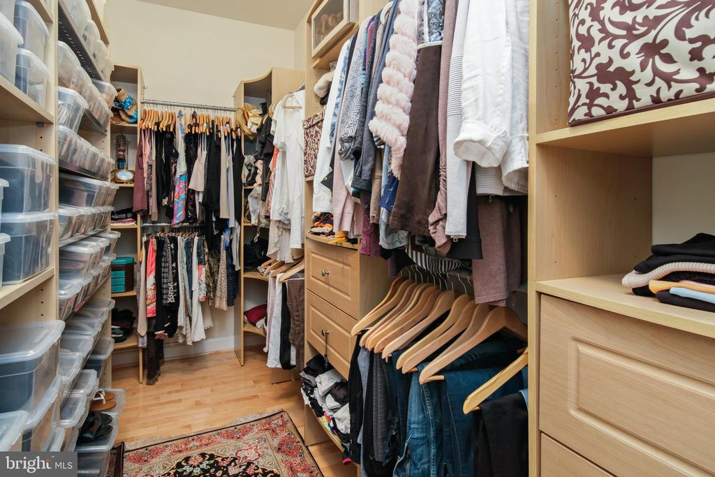 Primary Bedroom Walk-In Closet - 43945 RIVERPOINT DR, LEESBURG