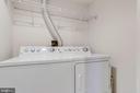 Laundry room - 1201 N GARFIELD ST #909, ARLINGTON