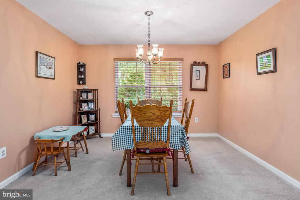 Large dining room - 507 STONEY CREEK CT, STERLING