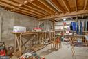 Unfinished basement ready for your vision! - 507 STONEY CREEK CT, STERLING