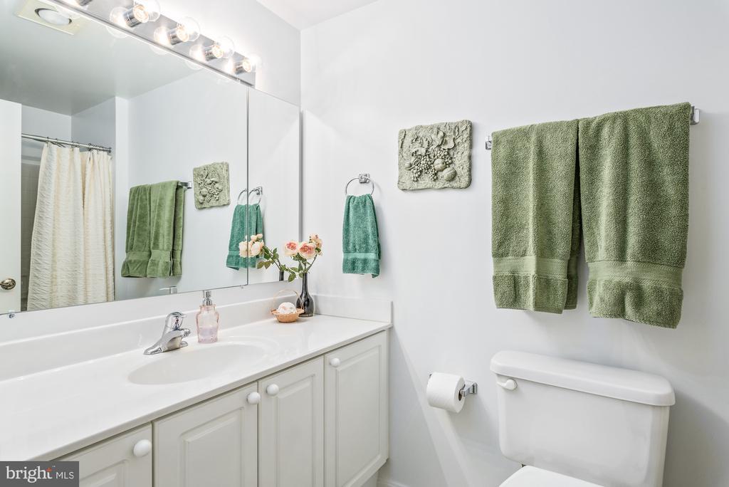 Guest bathroom - 19355 CYPRESS RIDGE TER #417, LEESBURG