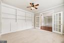 Office Built-in Bookcases - 22767 SWEET ANDREA DR, BRAMBLETON