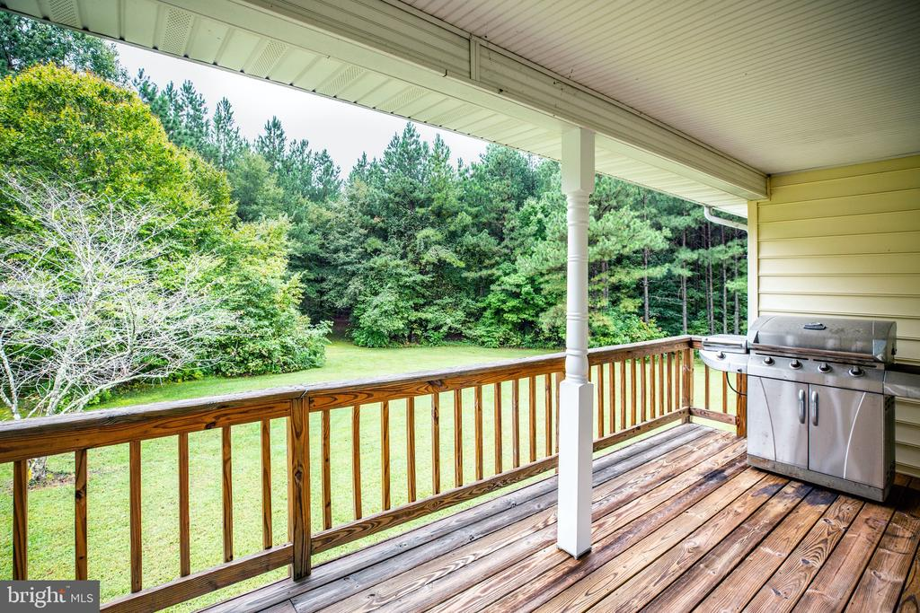 Barbecue and enjoy time outdoors - 6300 MARYE RD, WOODFORD