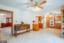 This spacious kitchen offers plenty of room - 6300 MARYE RD, WOODFORD