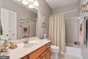 Upstairs hall bathroom - 4372 PATRIOT PARK CT, FAIRFAX