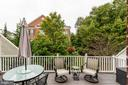 Deck offers privacy and a natural setting - 4372 PATRIOT PARK CT, FAIRFAX