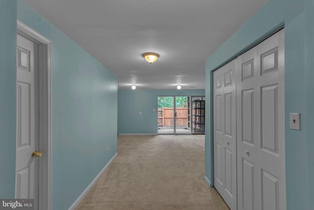 Basement! Door on the left has full bath rough in! - 13536 DARTER CT, CLIFTON