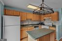 Kitchen with Island Seating! - 13536 DARTER CT, CLIFTON