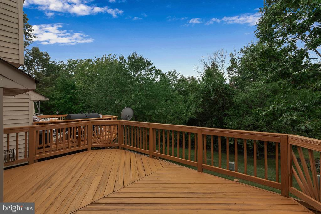 Large Deck Backing to Trees with Gorgeous Views! - 13536 DARTER CT, CLIFTON