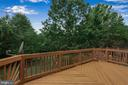 Large Deck Freshly Painted! - 13536 DARTER CT, CLIFTON