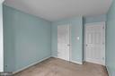 Bedroom #3 with Spacious Closet! - 13536 DARTER CT, CLIFTON