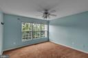 Primary Bedroom with Ceiling Fan! - 13536 DARTER CT, CLIFTON