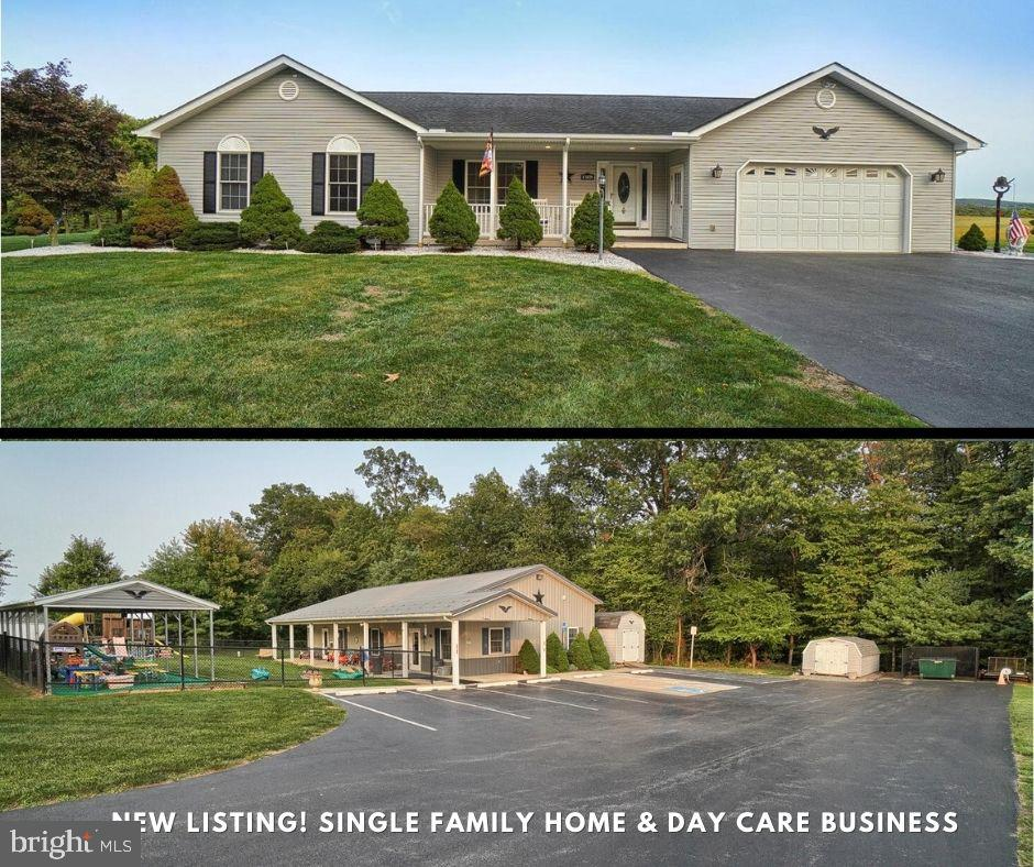 Front of home & front  of learning center/daycare - 11829 CASH SMITH RD, KEYMAR