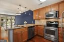 Kitchen - Stainless Steel Appliances & Granite! - 888 N QUINCY ST #207, ARLINGTON