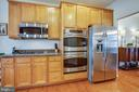 Double wall oven & Cook Top - 1916 MEADOW LARK DR, CULPEPER