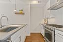 Kitchen - Hardwood Floors & Granite Counter Tops! - 2337 CHAMPLAIN ST NW #104, WASHINGTON