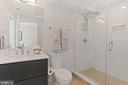 Gorgeously Appointed, Luxurious Bathroom! - 2337 CHAMPLAIN ST NW #104, WASHINGTON