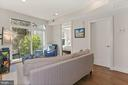Living Room Receives a Tremendous Amt. of Sunlight - 2337 CHAMPLAIN ST NW #104, WASHINGTON