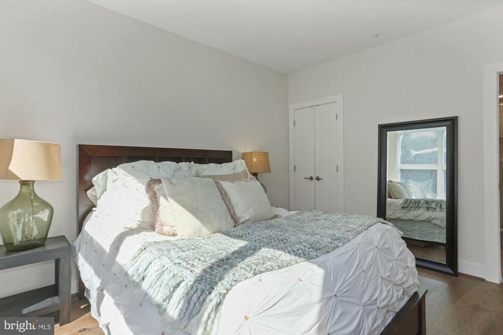 Bedroom - Look at that Pretty Sunlight Stream in! - 2337 CHAMPLAIN ST NW #104, WASHINGTON