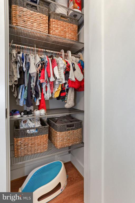 Den Features Customizable Elfa Closet! - 2337 CHAMPLAIN ST NW #104, WASHINGTON