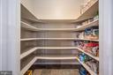 Walk in kitchen pantry - 5 JAMESTOWN CT, STAFFORD