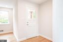 Front Door - Interior Foyer Area - 9113 WALDEN RD, SILVER SPRING