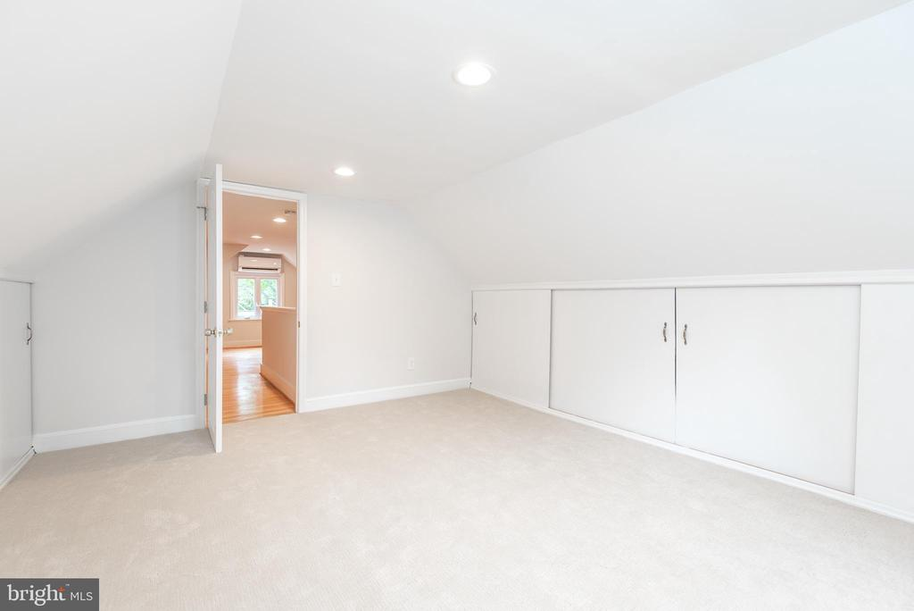 Primary Bedroom w View to Sitting Rm/Office - 9113 WALDEN RD, SILVER SPRING