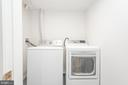 Lower Level Laundry Room - 9113 WALDEN RD, SILVER SPRING