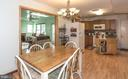 Breakfast Area and Kitchen - 7 MILL FORGE CT, THURMONT