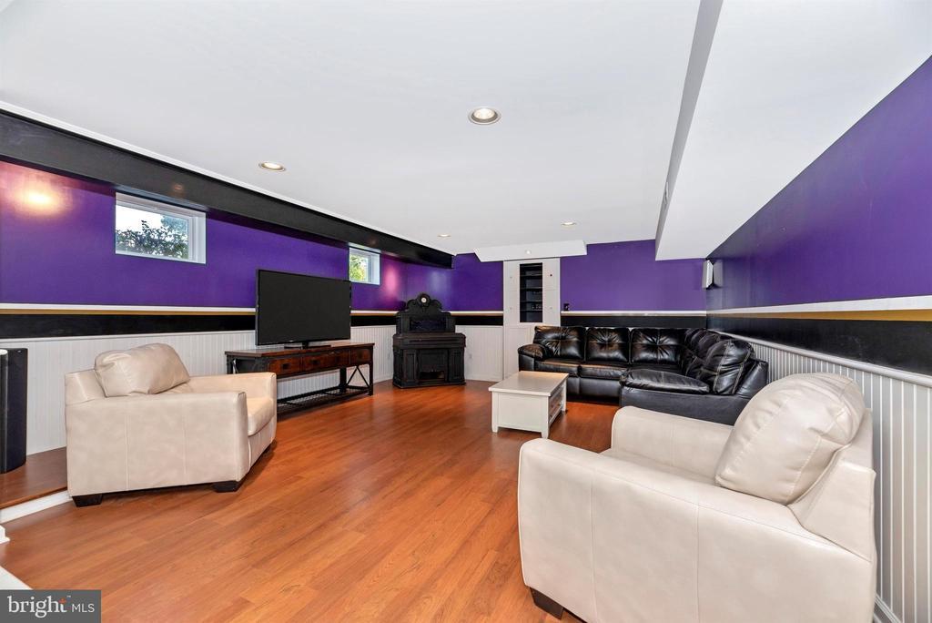 Lower Level Media Room - 8904 KNOLLWOOD WAY, FREDERICK