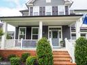 Brick walk way and strairs to covered porch - 2480 POTOMAC RIVER BLVD, DUMFRIES