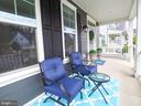 Front covered porch - 2480 POTOMAC RIVER BLVD, DUMFRIES