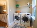 laundry on bedroom level - 2480 POTOMAC RIVER BLVD, DUMFRIES