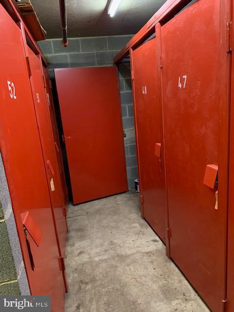 Storage is unit 49 at the end - steel doors. - 1276 N WAYNE ST #805, ARLINGTON