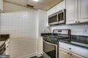 Brand new gas stove and microwave - 1276 N WAYNE ST #805, ARLINGTON