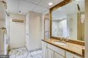 Water heater in the bathroom closet - 1276 N WAYNE ST #805, ARLINGTON