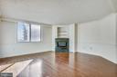 View into the living room - 1276 N WAYNE ST #805, ARLINGTON