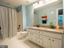 shared full bath with double vanity - 2480 POTOMAC RIVER BLVD, DUMFRIES