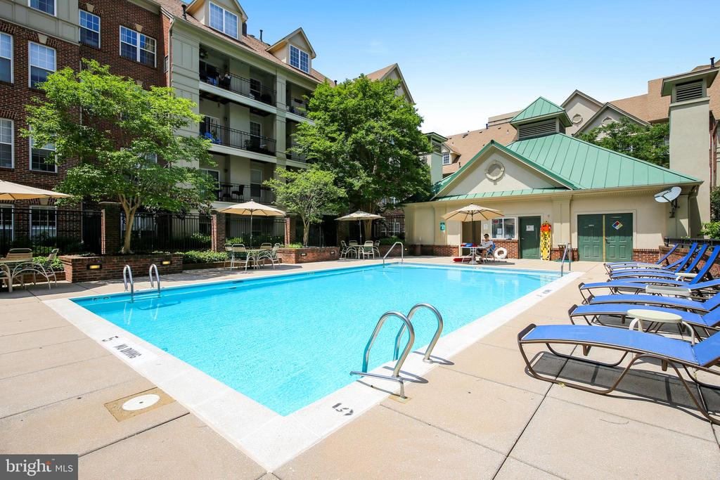 Pool - 1320 N WAYNE ST #208, ARLINGTON