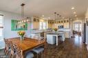 9 ft ceilings, wood floors, recessed lights - 16928 TAKEAWAY LN, DUMFRIES