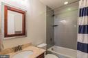 Lower level full bath - 16928 TAKEAWAY LN, DUMFRIES