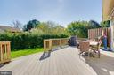 Trex Deck to Enjoy the Sunshine, Has Retractable A - 7408 ELECTRA CT, GAITHERSBURG