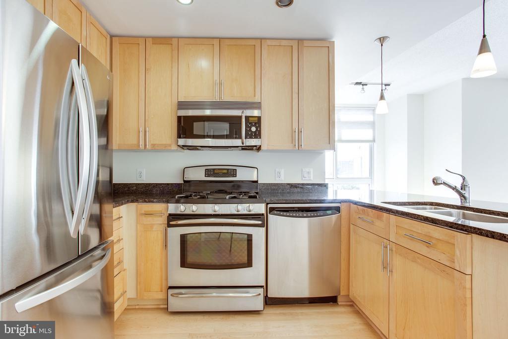 Newer frig 2017, stainless oven range, dishwasher - 820 N POLLARD ST #504, ARLINGTON