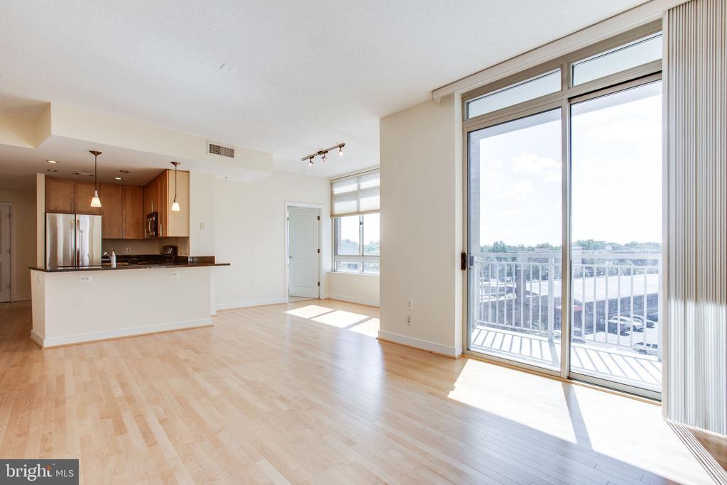 Sliding glass door to balcony - 820 N POLLARD ST #504, ARLINGTON