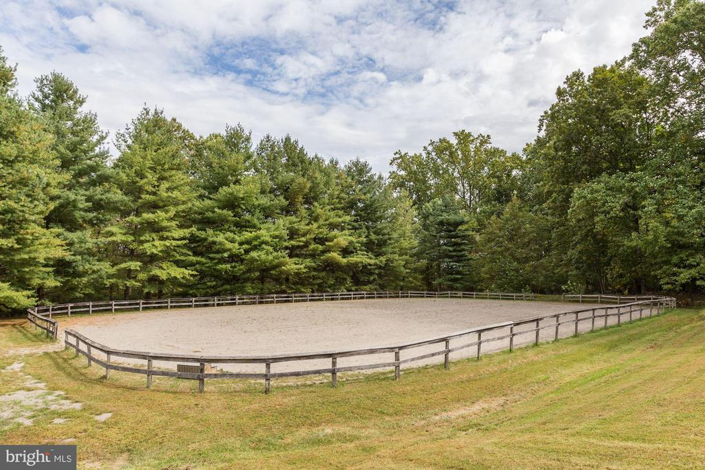 Riding ring - plus miles of trails - 8730 FOX GAP RD, MIDDLETOWN