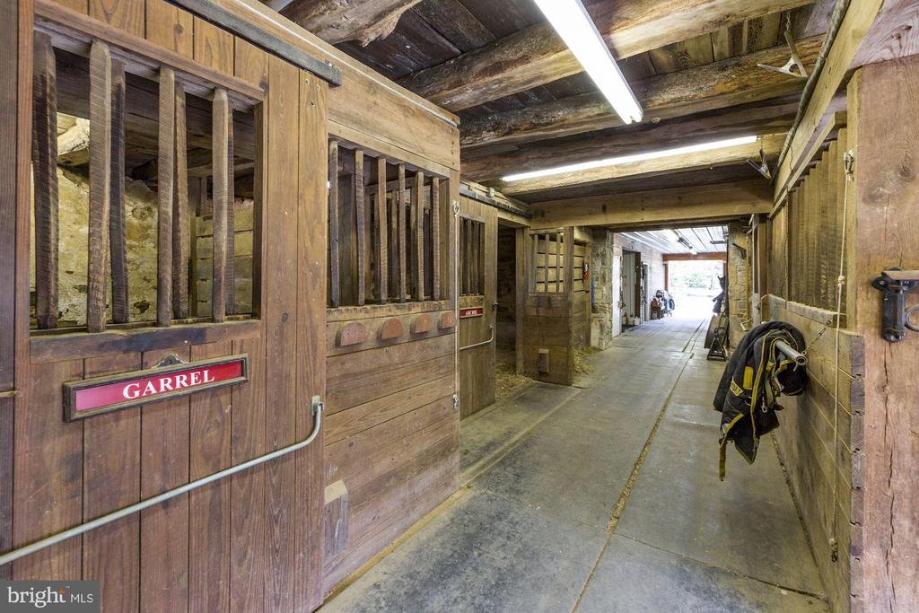 Interior of stable - 8730 FOX GAP RD, MIDDLETOWN