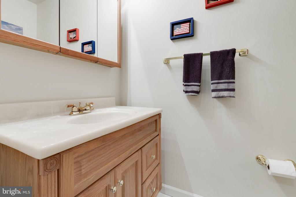 Lower Level Half Bathroom - 1507 SHIELDS TER NE, LEESBURG
