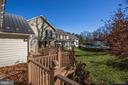 Deck off spring house - 8730 FOX GAP RD, MIDDLETOWN