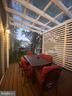Deck with roofing - 15105 MCKNEW RD, BURTONSVILLE